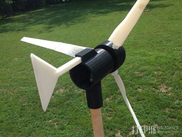 小风车 3D模型  图3