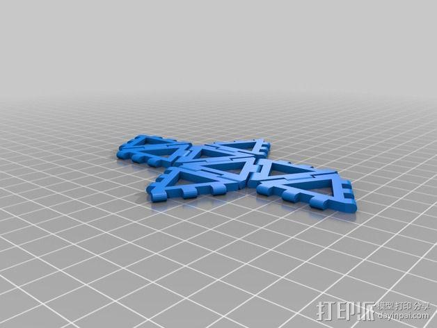 八面体 3D模型  图2