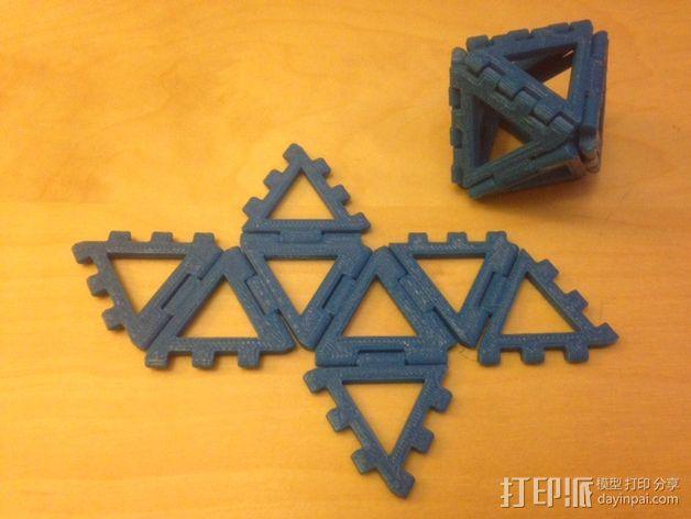 八面体 3D模型  图1