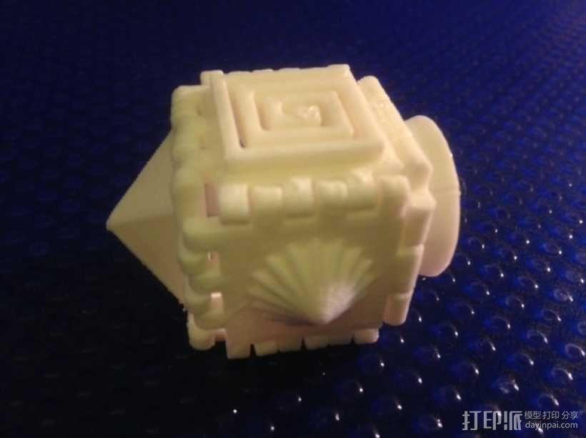六面体 正方体 3D模型  图2