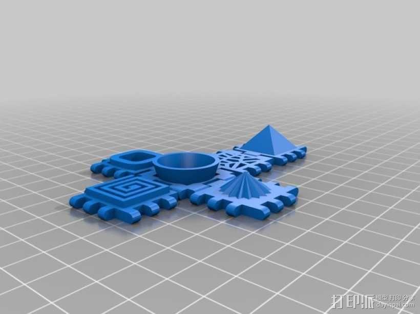 六面体 正方体 3D模型  图4