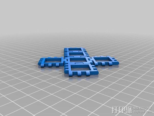 正方体 3D模型  图2