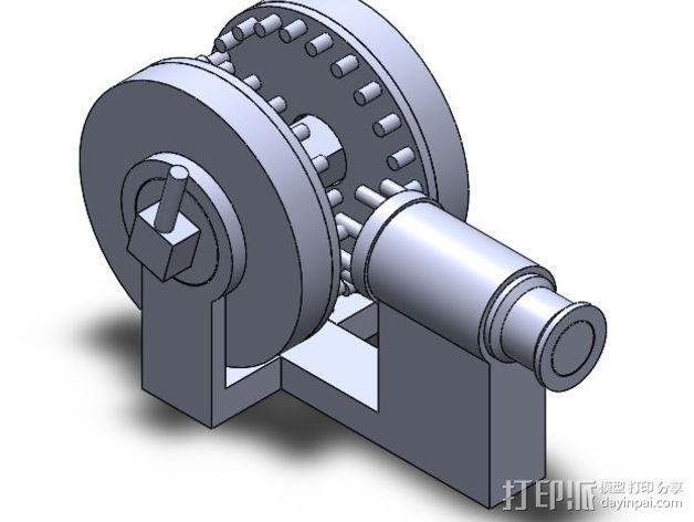 运动转换器 3D模型  图3