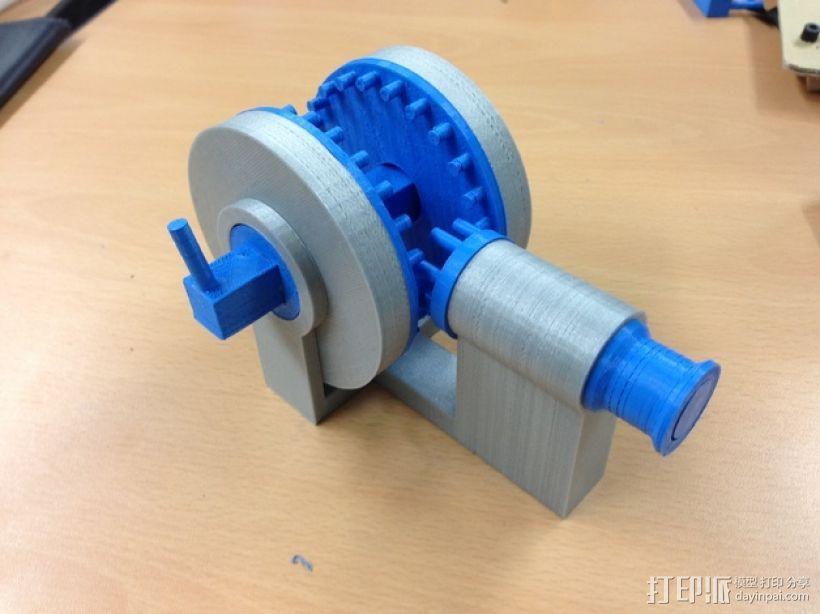 运动转换器 3D模型  图1