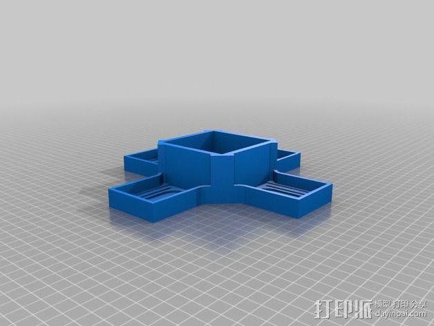 大号螺旋涡轮 3D模型  图3