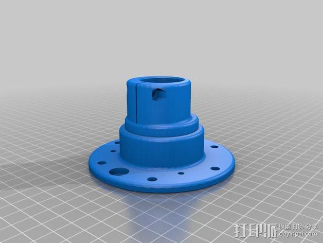 大号螺旋涡轮 3D模型  图5