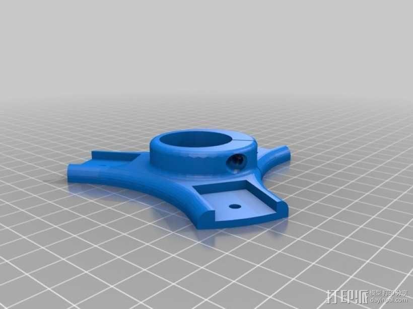 大号螺旋涡轮 3D模型  图4