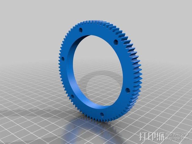 大号螺旋涡轮 3D模型  图7
