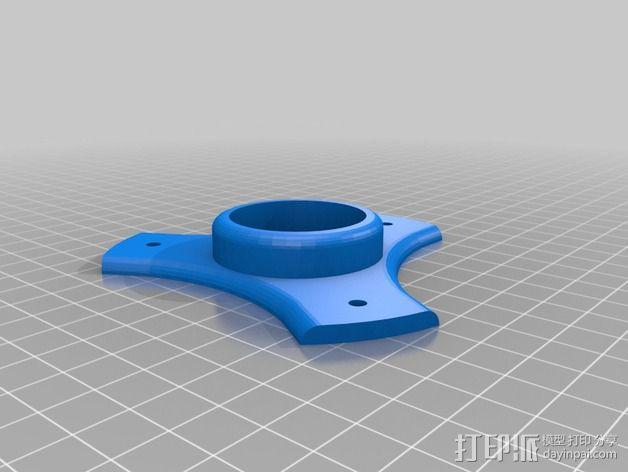 大号螺旋涡轮 3D模型  图6