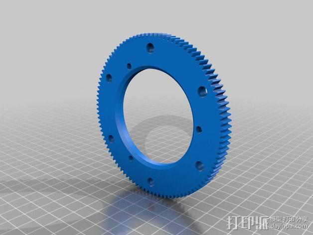 大号螺旋涡轮 3D模型  图8