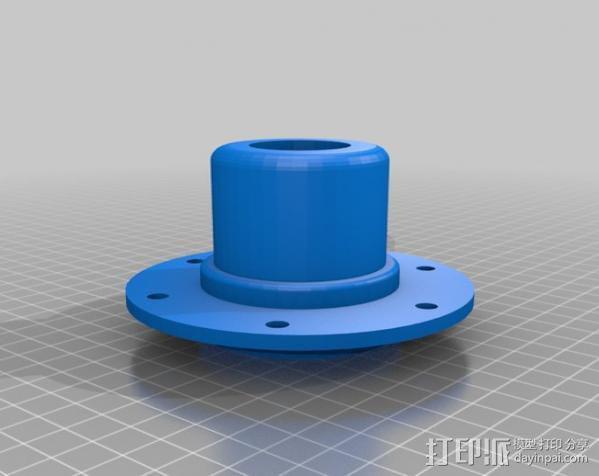 大号螺旋涡轮 3D模型  图15