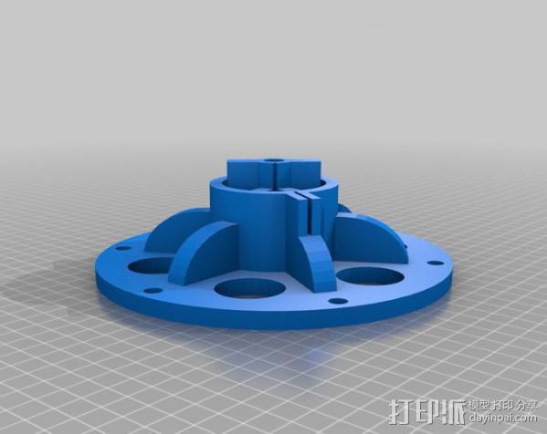 大号螺旋涡轮 3D模型  图24