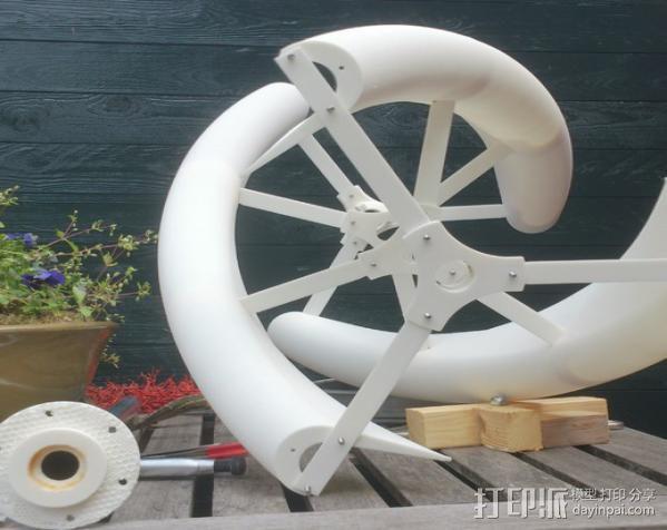 大号螺旋涡轮 3D模型  图35