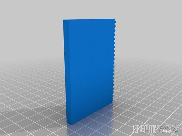 打印机XYZ轴打印床 3D模型  图10