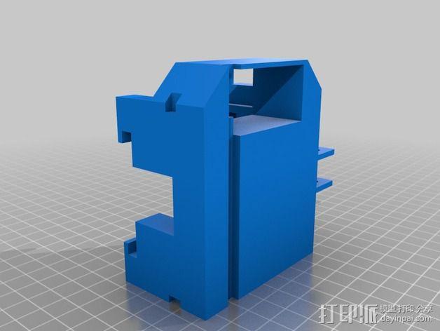 打印机XYZ轴打印床 3D模型  图11