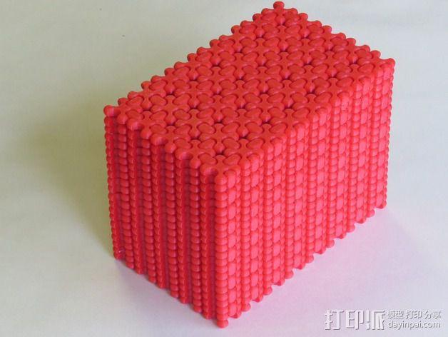可折叠锁甲 3D模型  图4