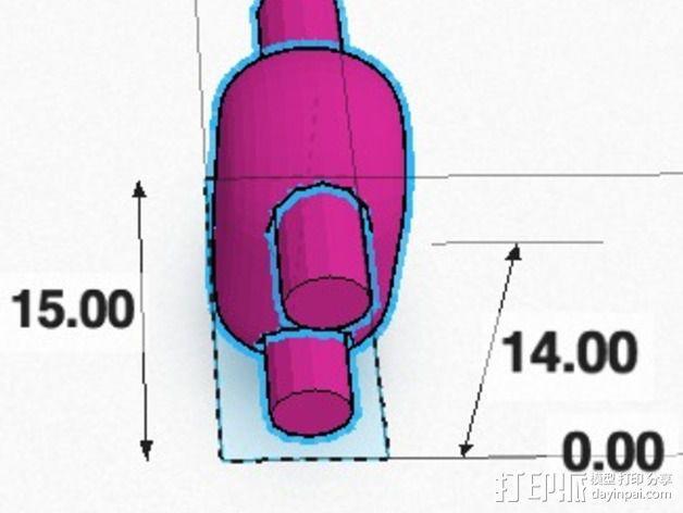 可折叠锁甲 3D模型  图10