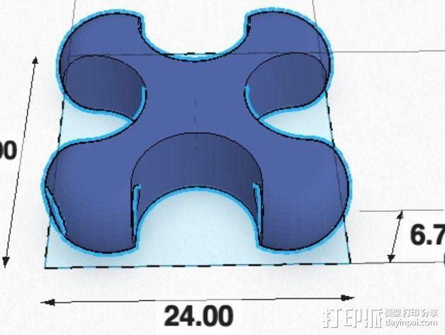 可折叠锁甲 3D模型  图8