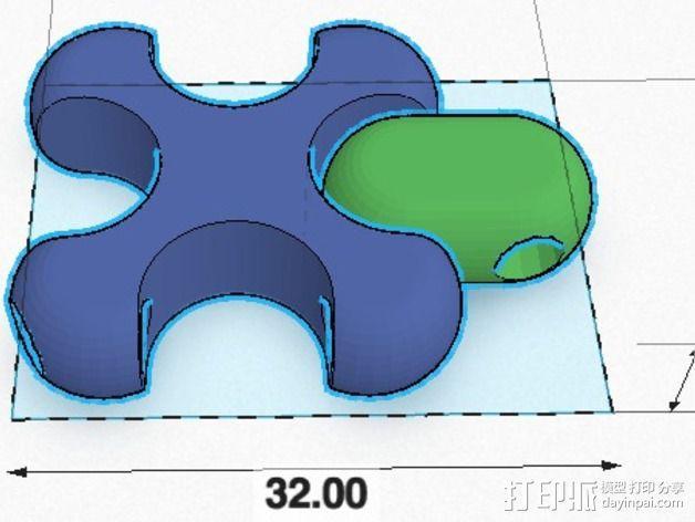 可折叠锁甲 3D模型  图11