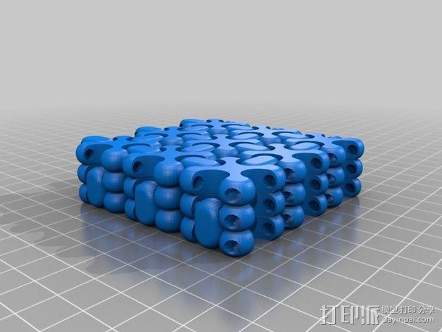 可折叠锁甲 3D模型  图15