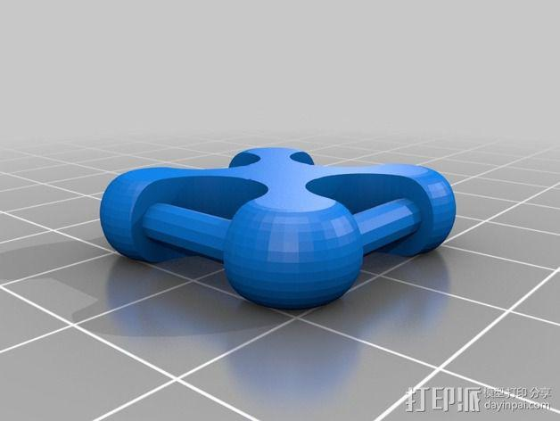 可折叠锁甲 3D模型  图28