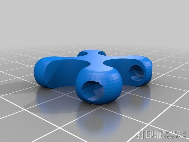 可折叠锁甲 3D模型  图27
