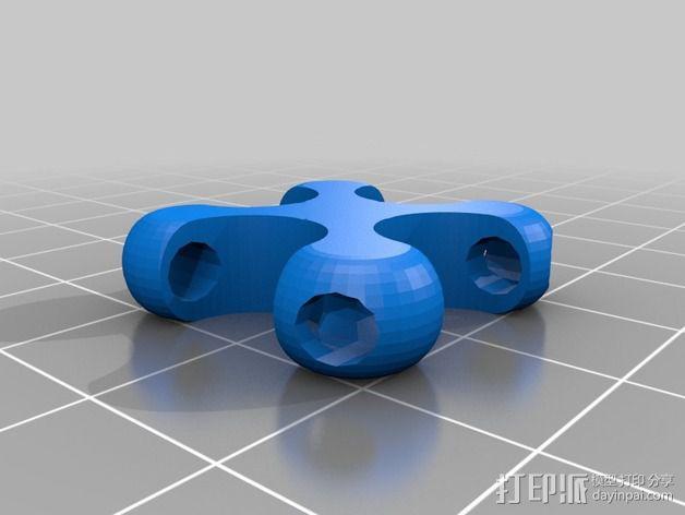 可折叠锁甲 3D模型  图30