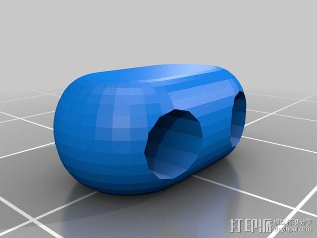 可折叠锁甲 3D模型  图32