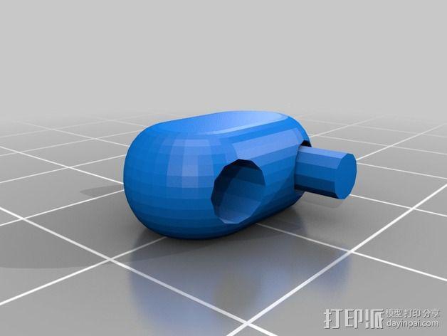 可折叠锁甲 3D模型  图34