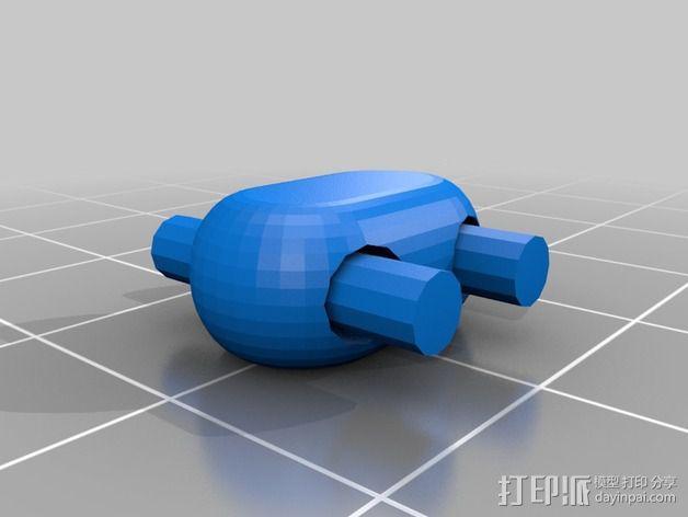 可折叠锁甲 3D模型  图33