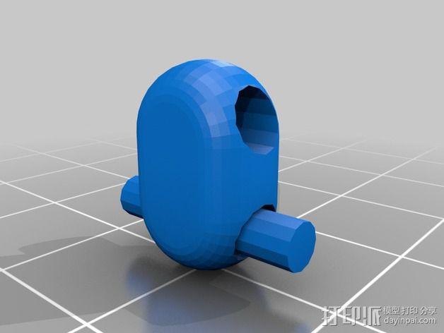 可折叠锁甲 3D模型  图36