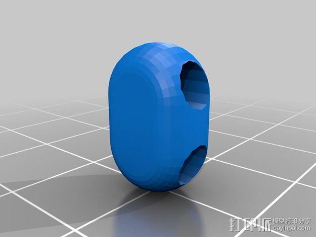 可折叠锁甲 3D模型  图35