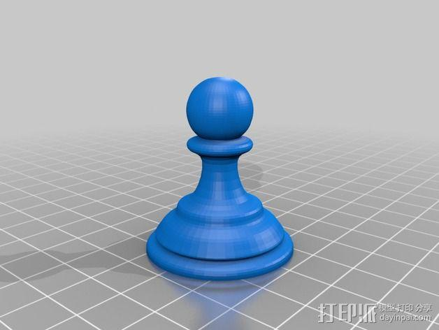 Sim象棋 3D模型  图2