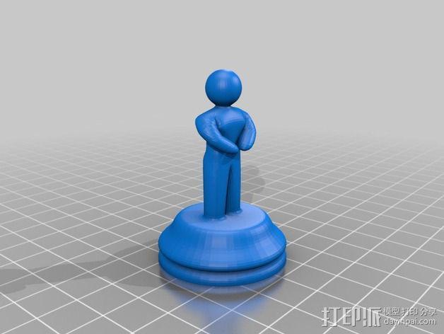 Sim象棋 3D模型  图6