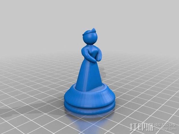Sim象棋 3D模型  图7