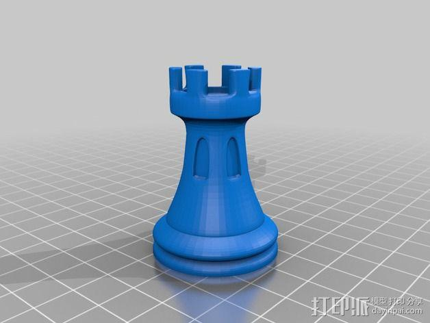 Sim象棋 3D模型  图9