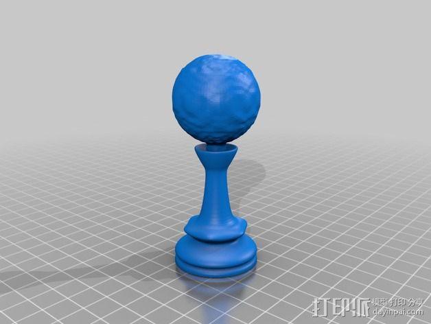 Sim象棋 3D模型  图15