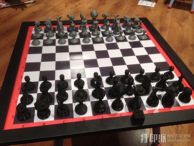Sim象棋 3D模型  图29