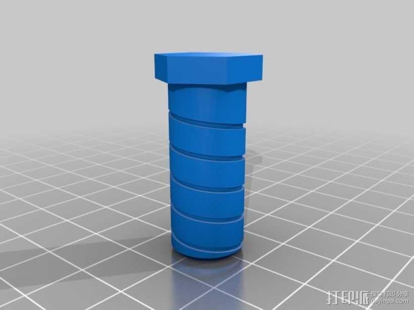 探头架 3D模型  图3