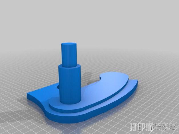 桌子 3D模型  图3