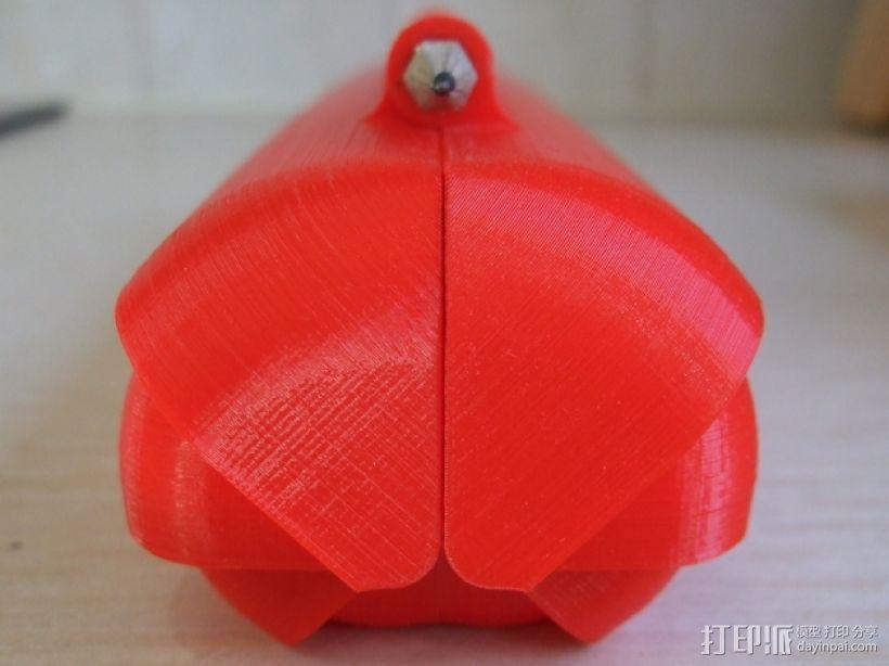 铅笔盒 3D模型  图1