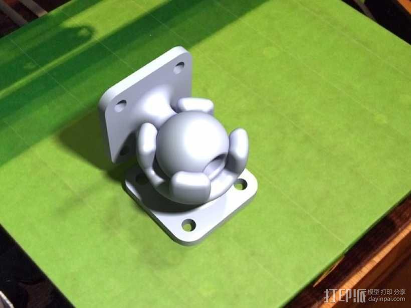 球形底座 3D模型  图1