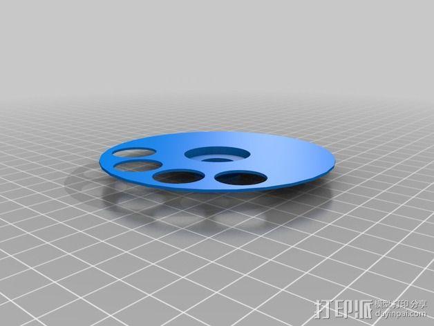 药丸自动分配器 3D模型  图4