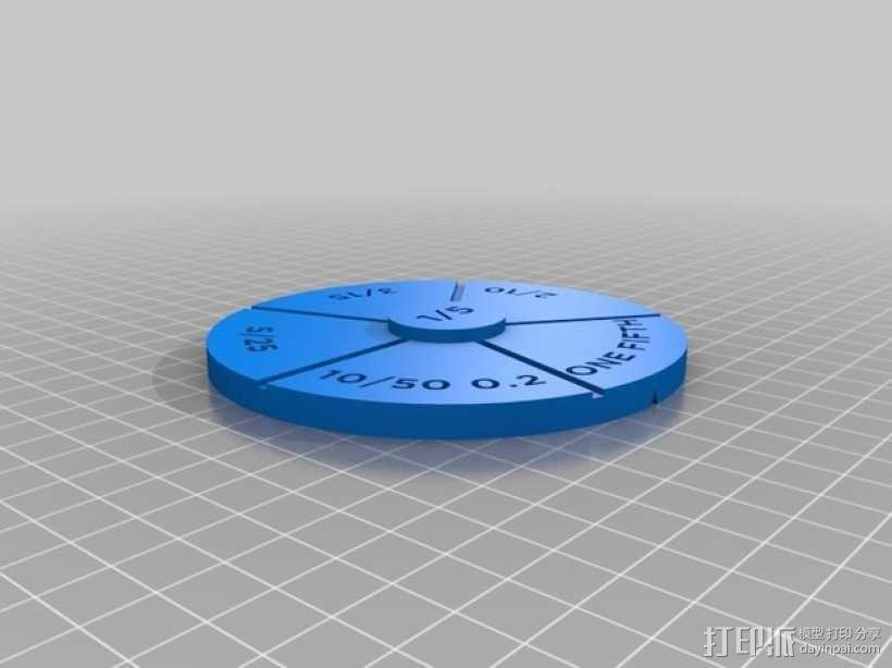 等值分数塔 3D模型  图2