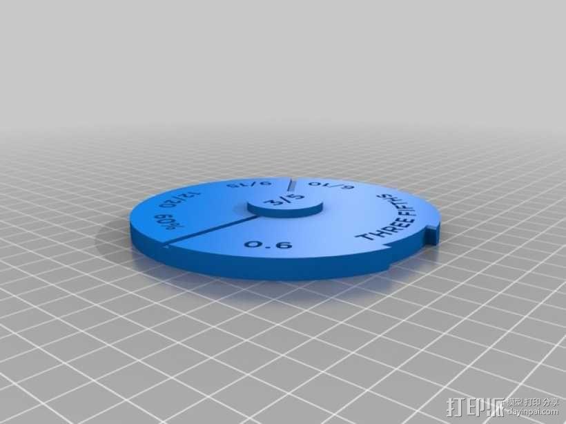 等值分数塔 3D模型  图10