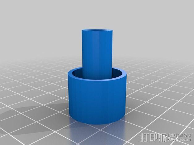 虹吸管塞子 3D模型  图3