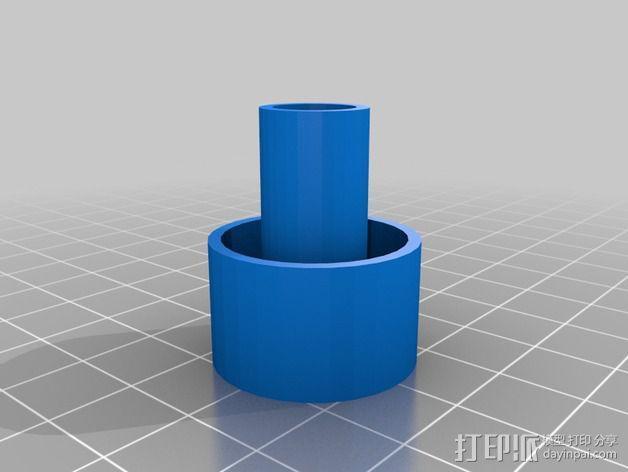 虹吸管塞子 3D模型  图4