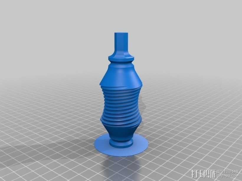 双曲线涡轮 3D模型  图4