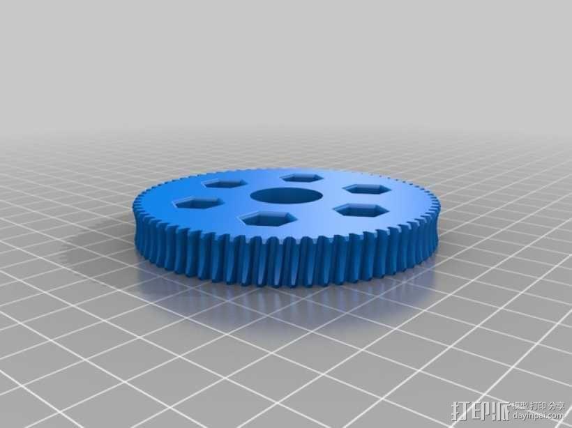 双曲线涡轮 3D模型  图5