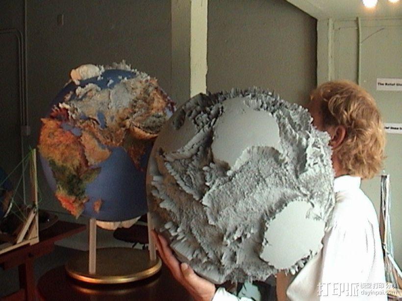 地球仪 3D模型  图1